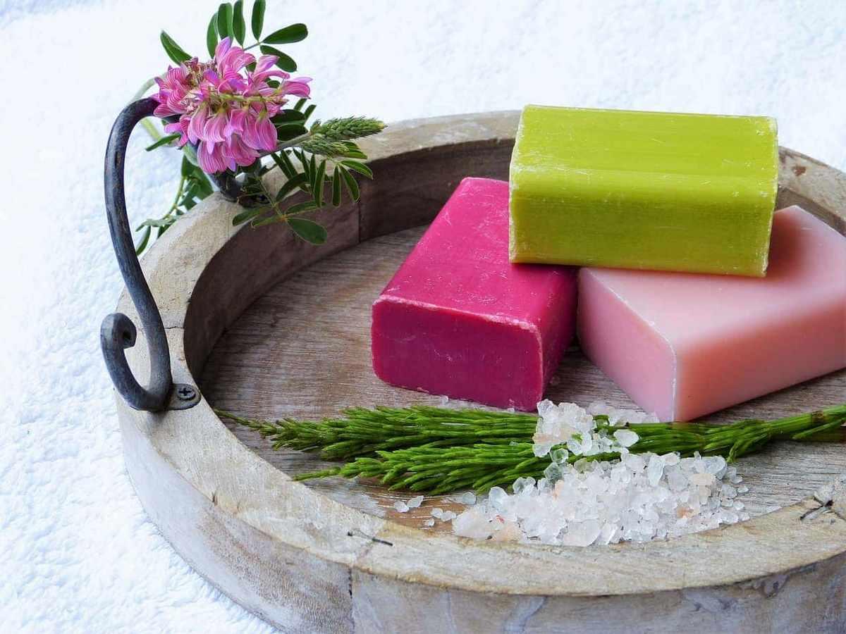 The benefits of natural handmade soap