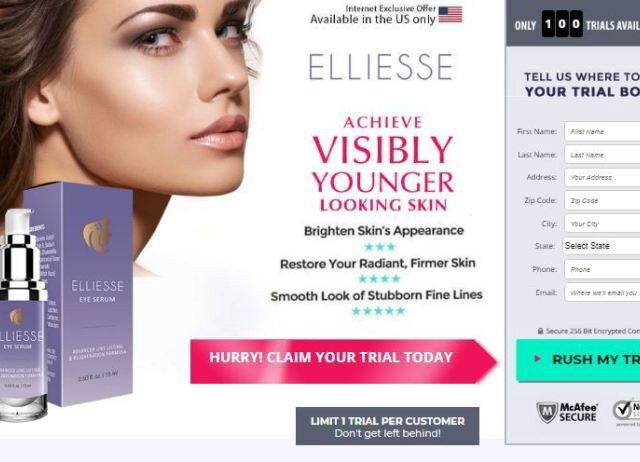 Elliesse Eye Serum Review a revampsalonspa