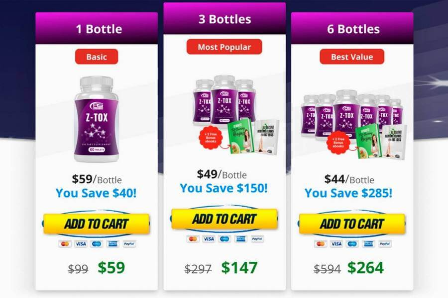 Where to Order Z-Tox? What's The Pricing?